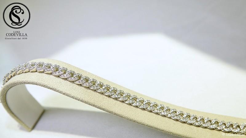 Bracciale in oro bianco